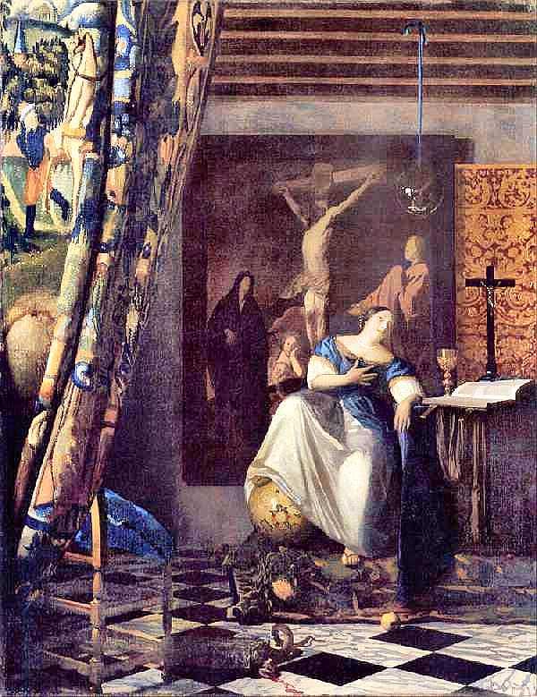 Vermeer : Allegory of ...