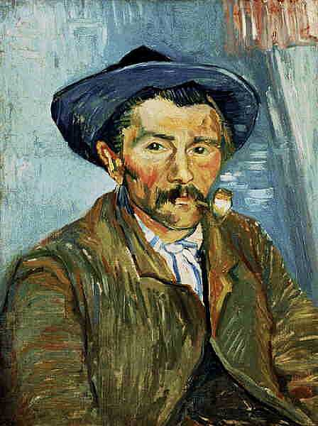 van gogh man smoking fine art reproduction gallery of fine art